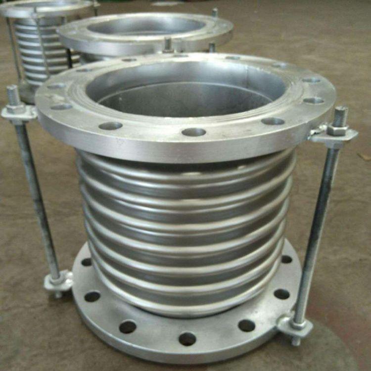 不锈钢法兰式补偿器 拉杆式专用波纹补偿器 通用型伸缩节膨胀节