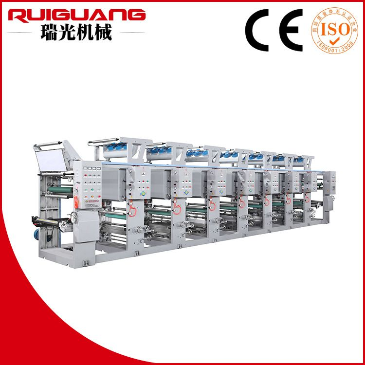 厂家直销供应 塑料薄膜印刷机 环保套色凹版印刷机 品质保证