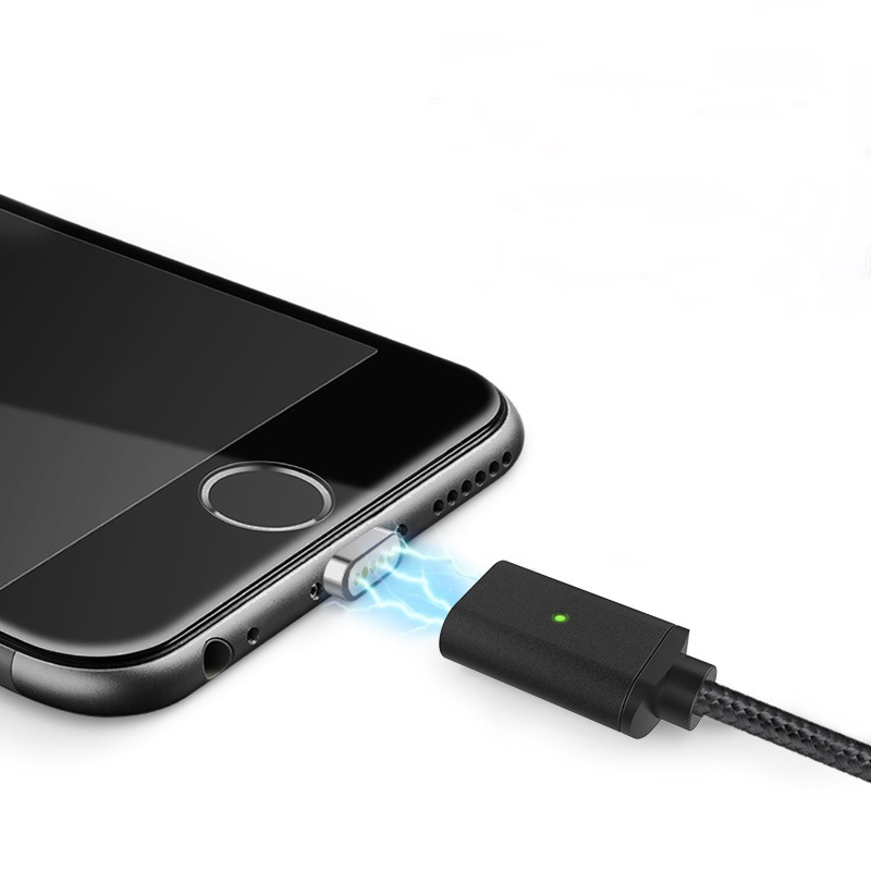 安卓二合一磁吸数据线适用苹果数据线手机充电器线磁力����批发