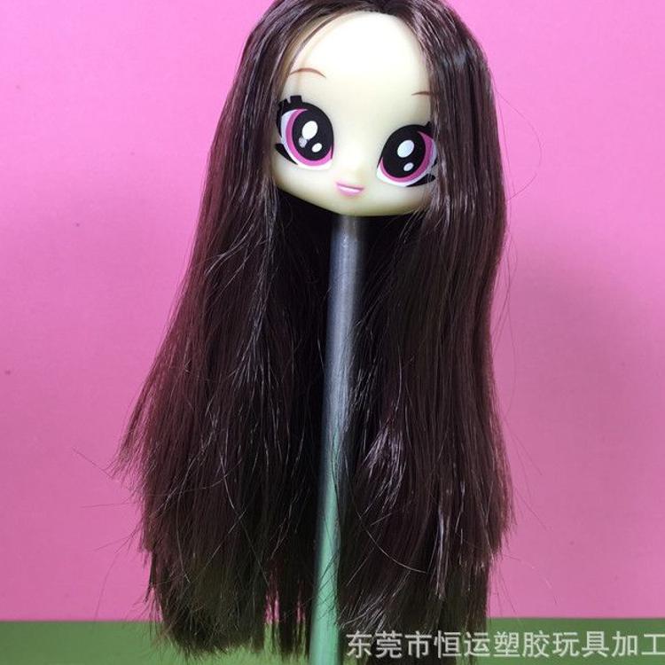 搪胶娃娃定制 胶皮娃娃植发加工 搪胶娃娃车发代工 有售日本发丝