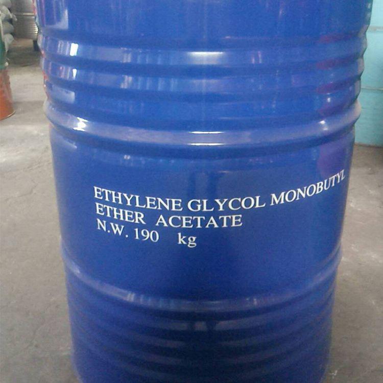 现货供应乙二醇丁醚醋酸酯 乙酸丁氧基乙酯 量大优惠