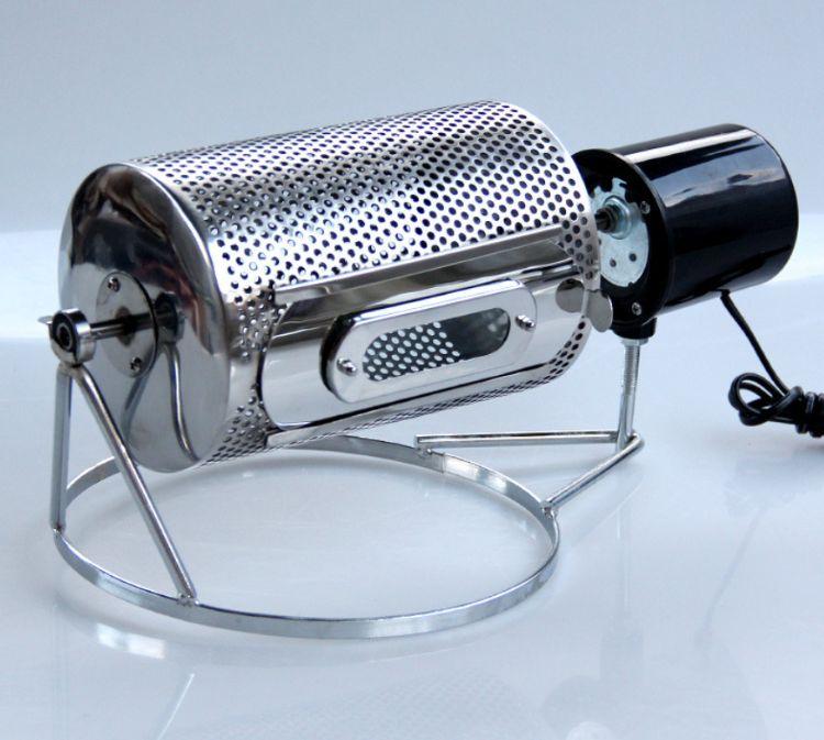 不锈钢家用小型咖啡烘焙机烘豆机电动干果炒货机 咖啡豆烘焙机