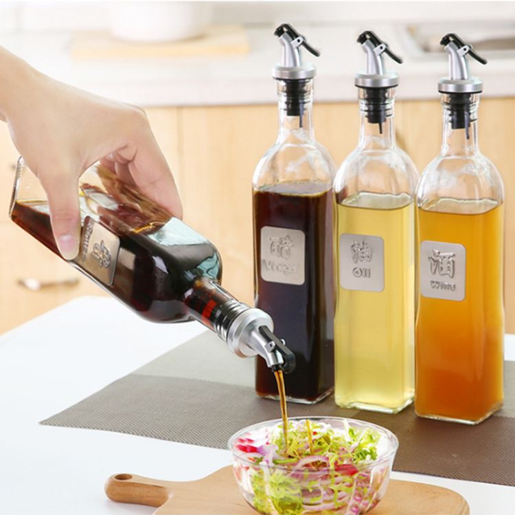玻璃油壶厨房防漏调味瓶油罐油瓶醋壶调料瓶酱油醋瓶料酒瓶