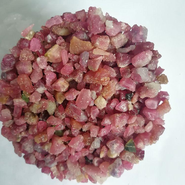 厂家直销晶体电气石 电气石 电气石粉 彩色电气石 量大从优