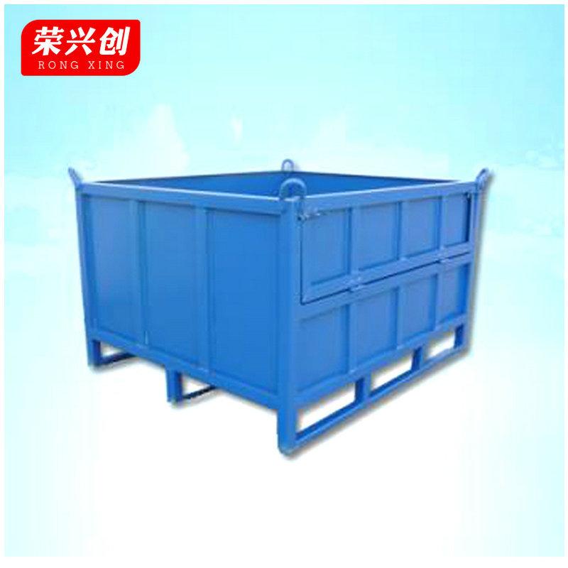 厂家供应优质钢制料箱 钢制金属料箱 生产钢料箱规格齐全质优价廉