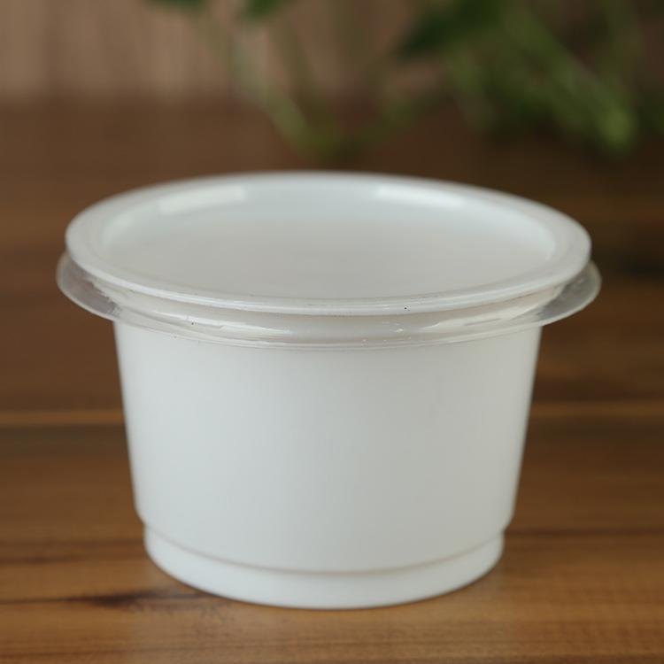 110乳白碗-10克  高端一次性塑料乳白碗
