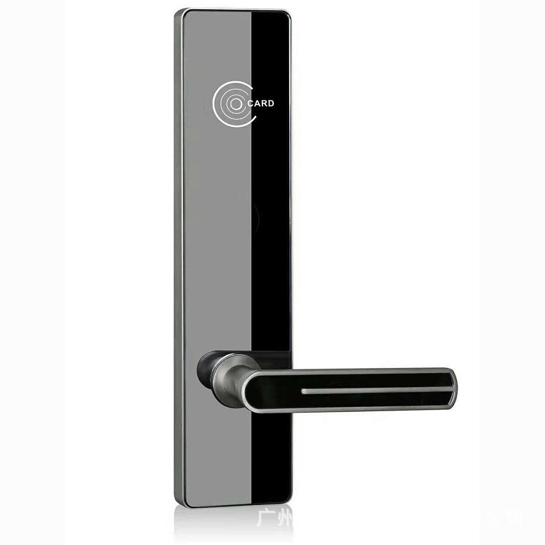 厂家直销新款酒店公寓宾馆门锁智能锁电子锁磁力锁电子门锁锌合金