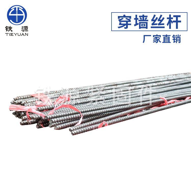 厂家供应 高强度螺杆 穿墙丝杆 粗牙 定制生产