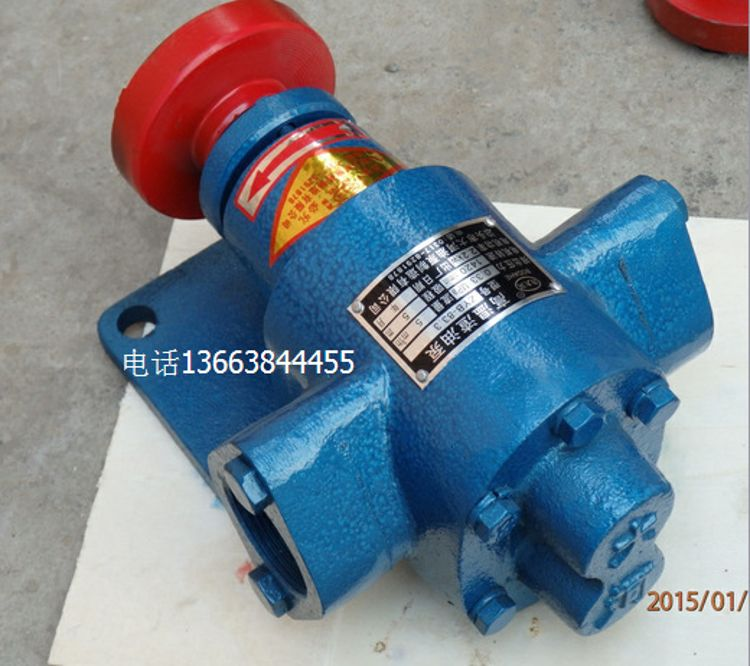 ZYB83高温油渣泵,颗粒油泵,烧火油泵,塑料油渣油泵