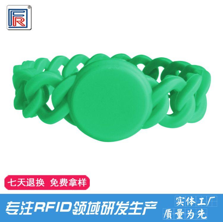 硅胶手表rfid腕带感应手环硅胶腕带 rfid游泳池手牌 洗浴开锁手牌