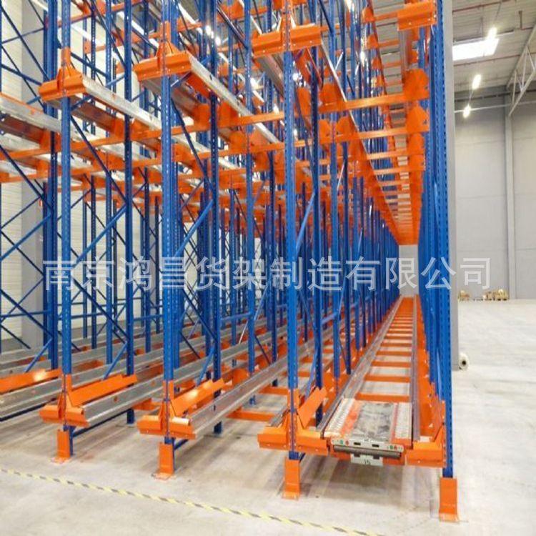 穿梭式货架 厂家直销穿梭车货架 穿梭板货架例仓储货架批发