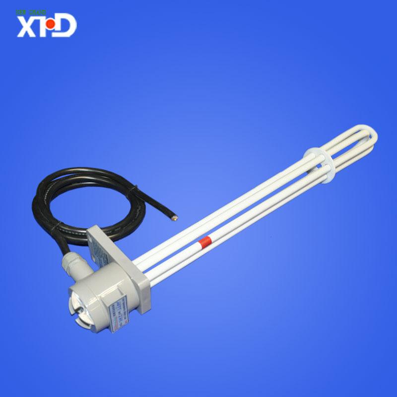 三相三线耐酸防腐铁氟龙电热管 四氟加热管 1KW、2KW、3KW发热管