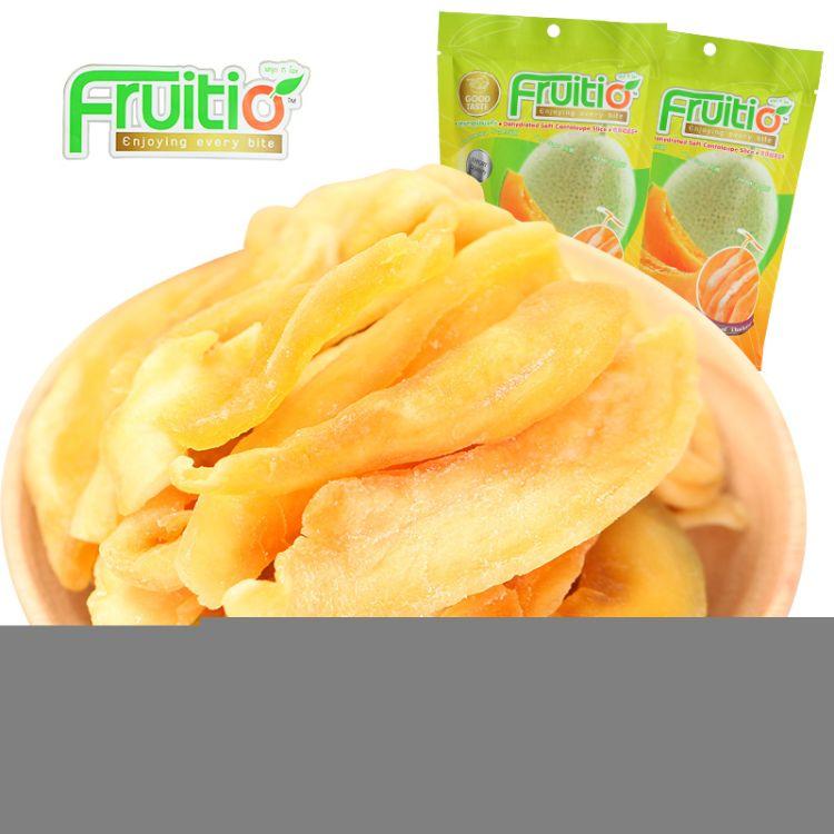 Fruitio/福泰果 泰国进口哈密瓜干果干100g 蜜饯食品零食一件代发