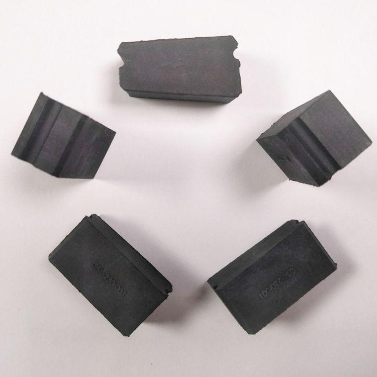 工业用橡胶制品 方形橡胶防滑垫模具加工 耐高温橡胶制品加工定制