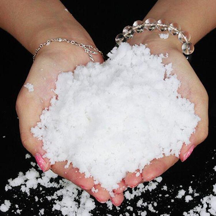 1公斤散装人造雪 高品质人造雪粉橱窗装饰场景圣诞礼品人造雪花