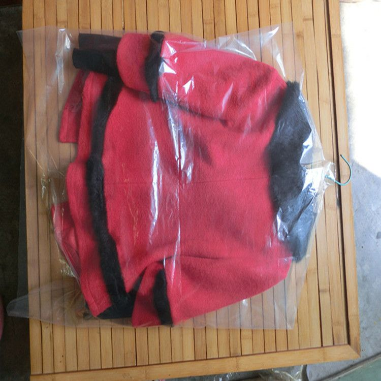 服装服饰包装 西装pe斜挂袋 服装服饰拉链袋 数码电子产品包装