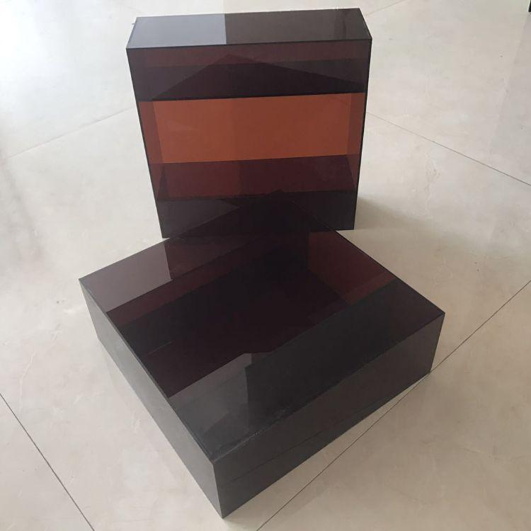 亚克力展示盒有机玻璃鞋盒 模型防尘盒子收纳盒厂家批发定制
