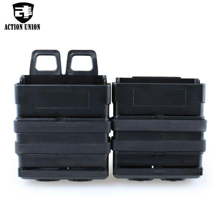 背心配件 FMA fastmag配件袋(5.56) 中号背心附件盒 双联快拨夹盒