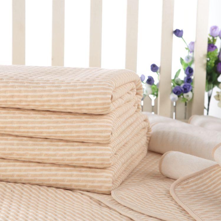 双面婴儿隔尿床垫 四层竹纤维隔尿垫 超大号防水隔尿床垫厂家直销