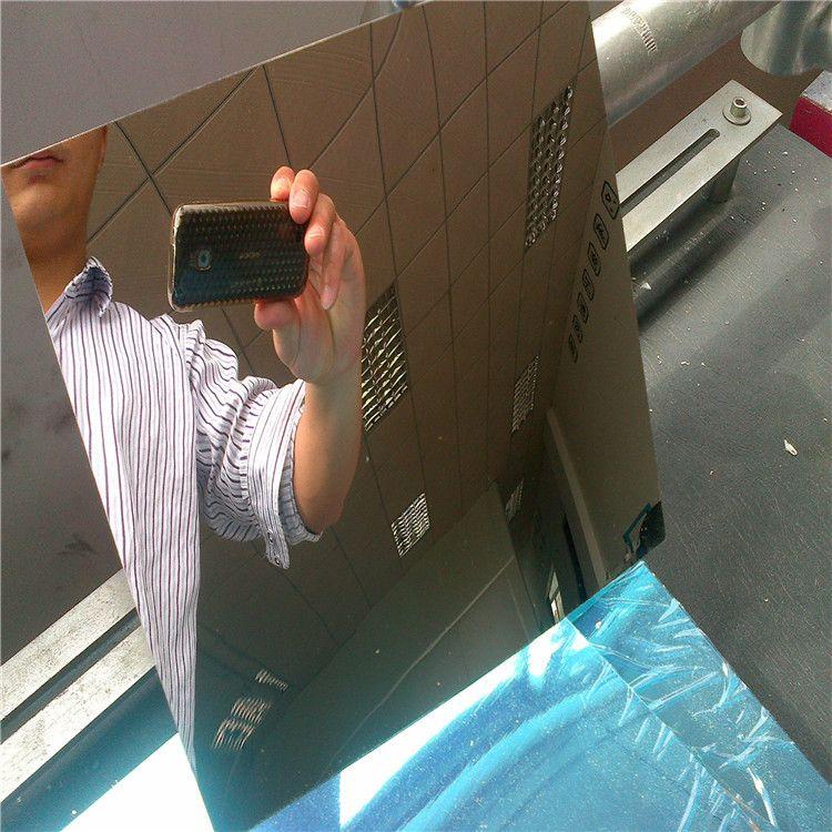 定制pc镜片 塑料镜不碎镜软镜子可以针缝制镜片pc
