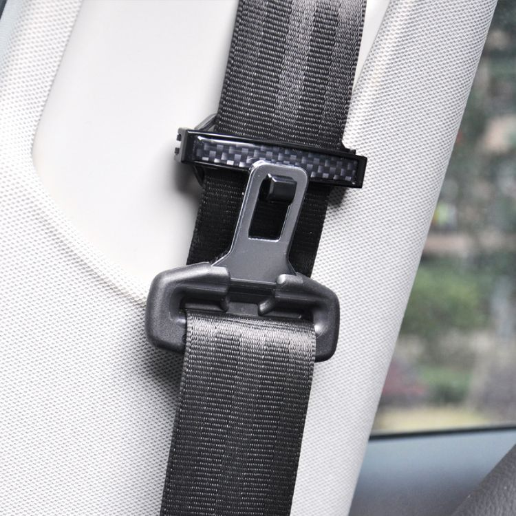 汽车安全带固定夹 对装安全带松紧器 安全带夹 车用安全带扣