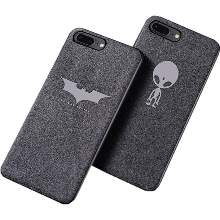 適用蘋果iPhoneX翻毛皮手機殼7plus絨面歐締蘭全包防摔磨砂保護套