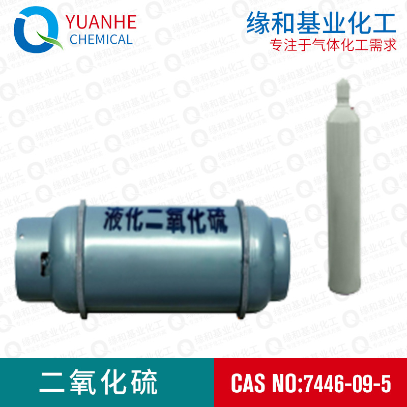 厂家直销二氧化硫标准气体 SO2标准气体