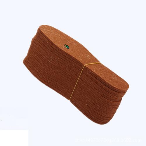 鞋垫厂家直销透气保暖除臭毛毡鞋垫 批发加厚耐寒冬季羊毛毡鞋垫