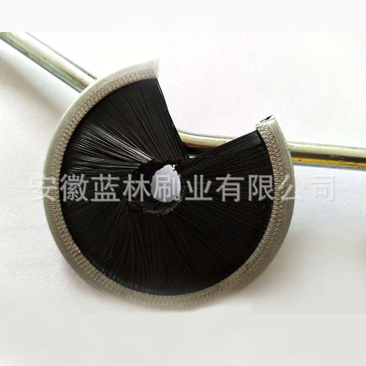 毛刷厂家定制尼龙丝毛刷 办公桌美工防尘刷 异形除尘毛刷生产厂家