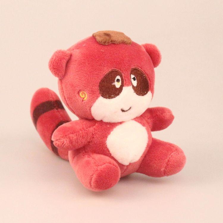 2018新款毛绒玩具小熊猫浣熊公仔 卡通小浣熊精品玩具挂件批发