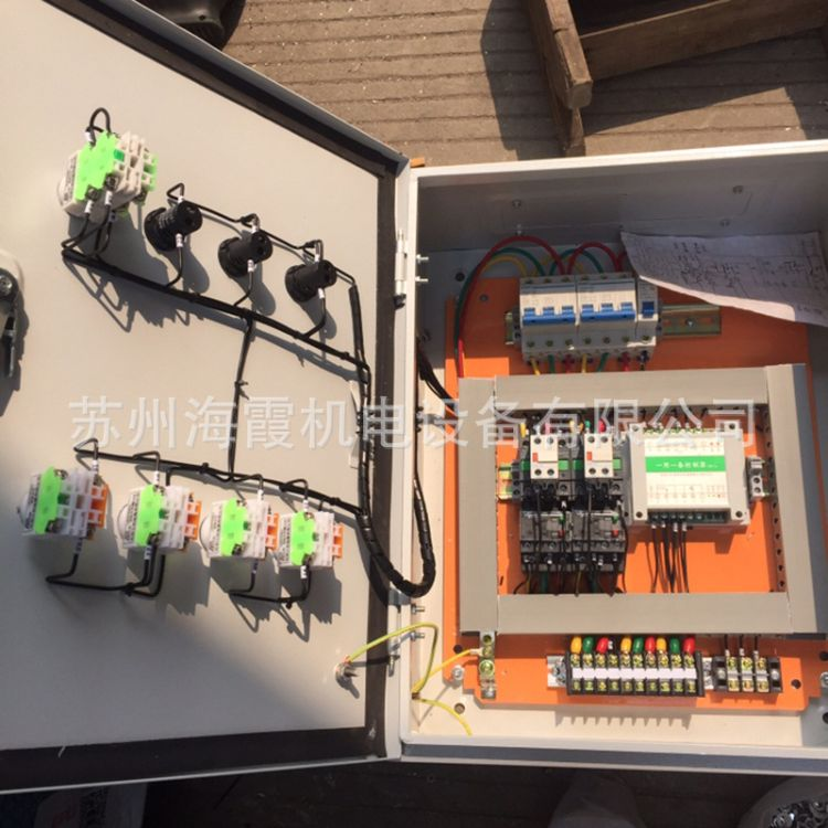环保风机控制柜 低压成套风机控制箱  风机控制柜配电箱