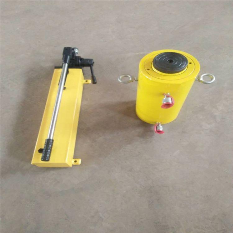 专业定制液压手动泵 10T 批发小型非标手动液压泵站 分离式液压站