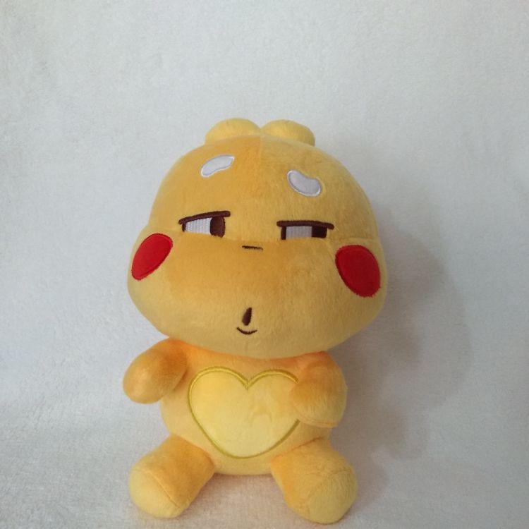 厂家生产QQ卡通表情毛绒玩具公仔丘比龙短毛绒玩具布艺礼品玩具