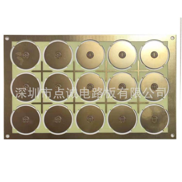 厂家生产3-5OZ厚铜PCB镀镍沉银沉锡碳油阻抗板 多媒体插卡线路板