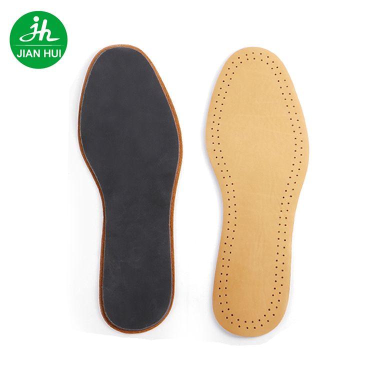 建辉鞋材皮鞋鞋垫 外贸热销男女士真皮透气防臭头层牛皮鞋垫