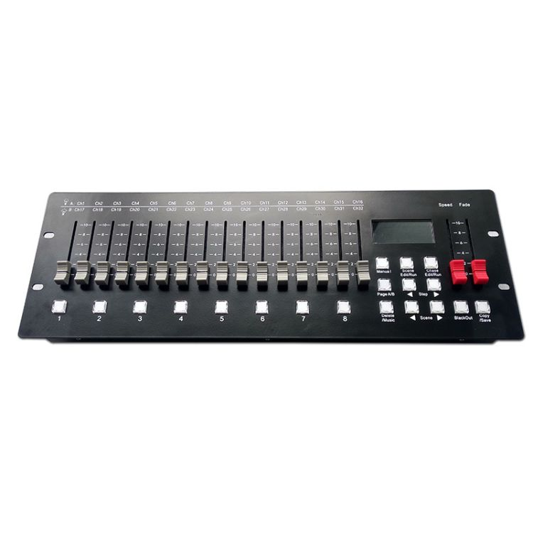 舞台灯光控制器 灯光控制器DMX-2560控台光束灯帕灯激光控制台