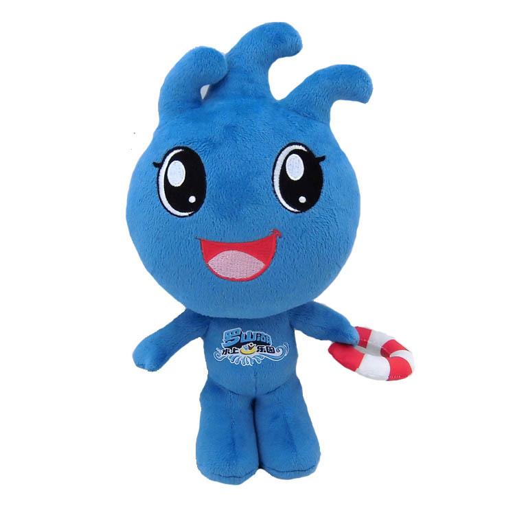 卡通吉祥物公仔定制厂家 来图定制公司吉祥物LOGO玩偶 儿童娃娃