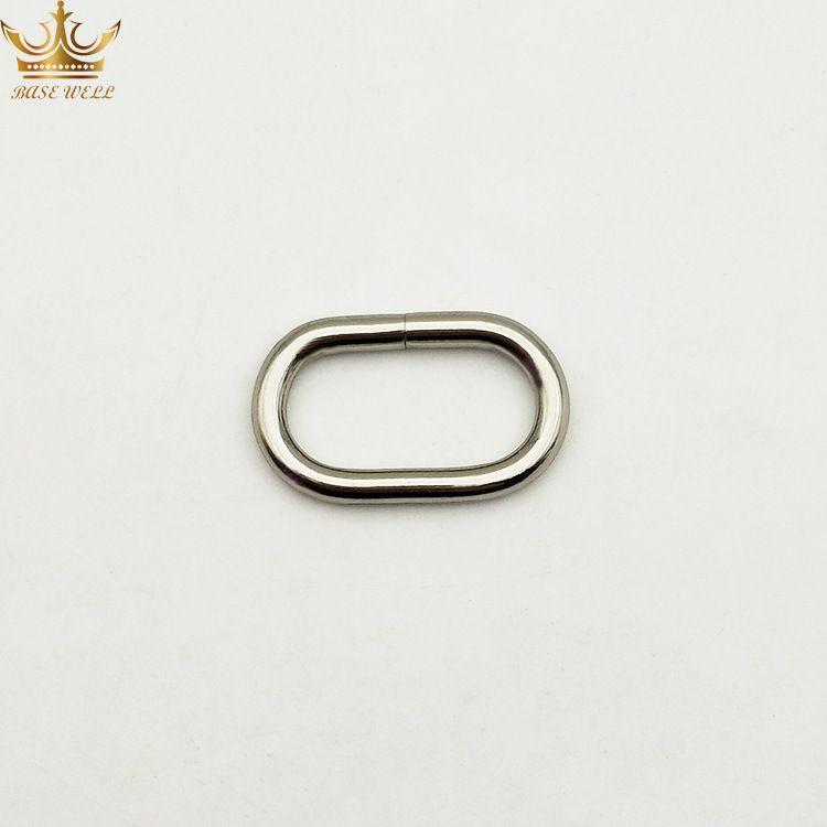 锌合金椭圆环 长圆环 箱包五金制品 可定制