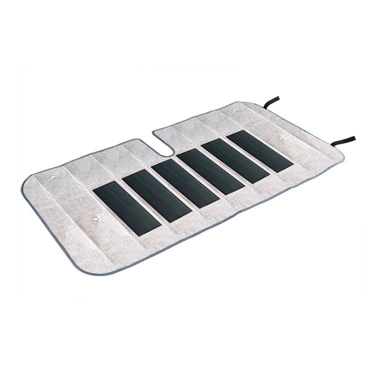 汉能 户外车用遮阳板薄膜太阳能电池板