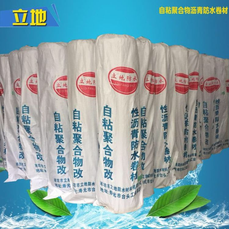 湿铺自粘聚合物改性沥青防水卷材 SBS自粘型防水卷材 厂家直销