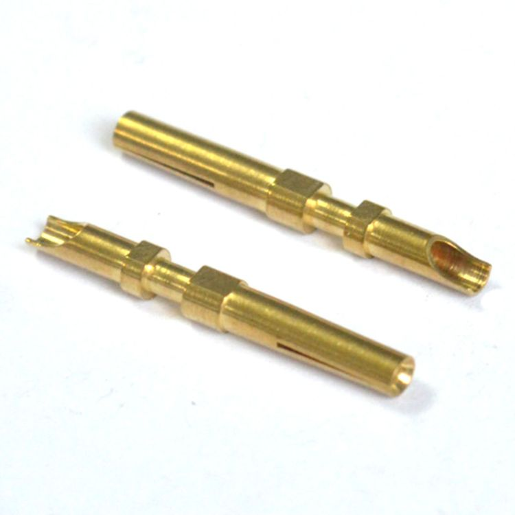 连接器防水端子 连接器金属零部件 工业五金配件 深圳五金加工厂