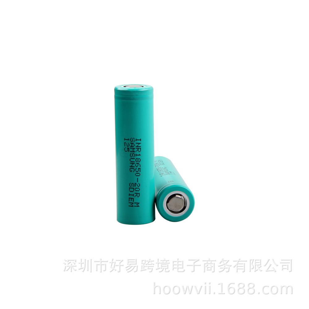 三星-18650-2000R 动力锂电池 电动工具 高倍率