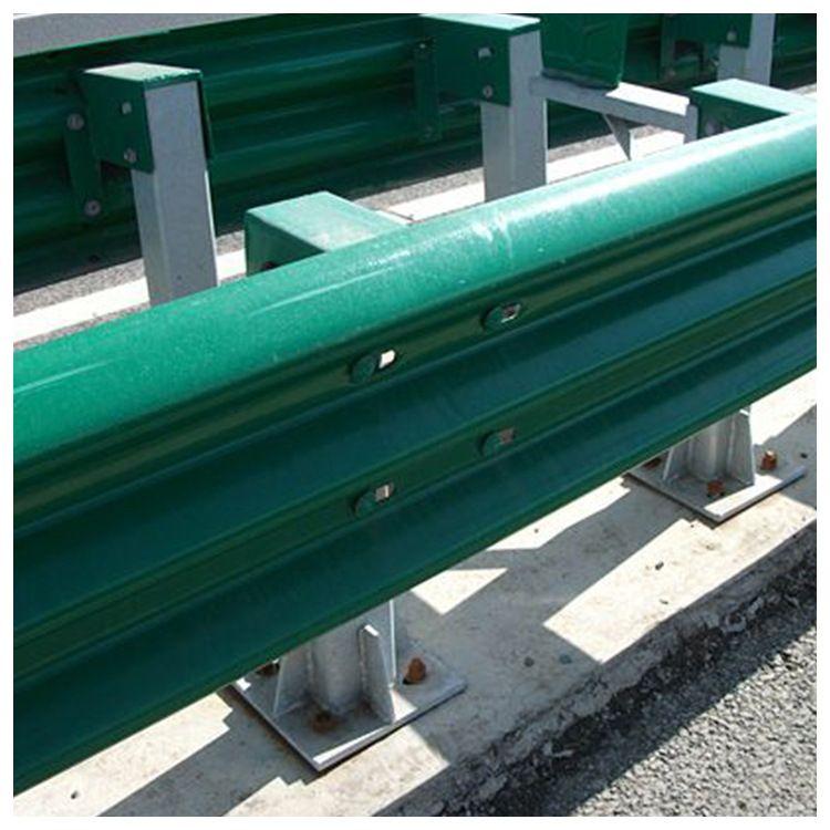 波形护栏厂家直销  双波喷塑波形护栏板  高速护栏板