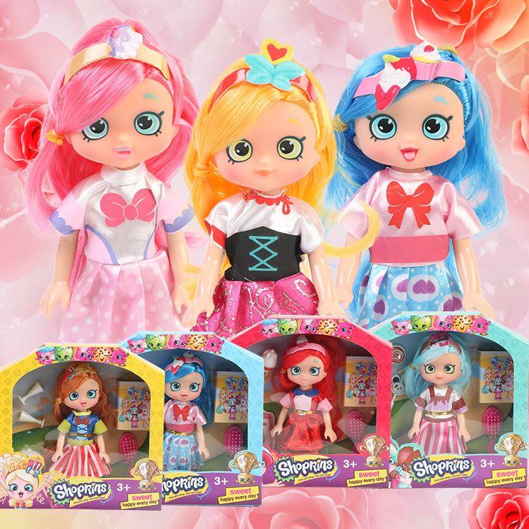 厂家批发公主可爱洋娃娃 儿童玩具娃娃生日礼物 肥童彩盒巴比娃娃