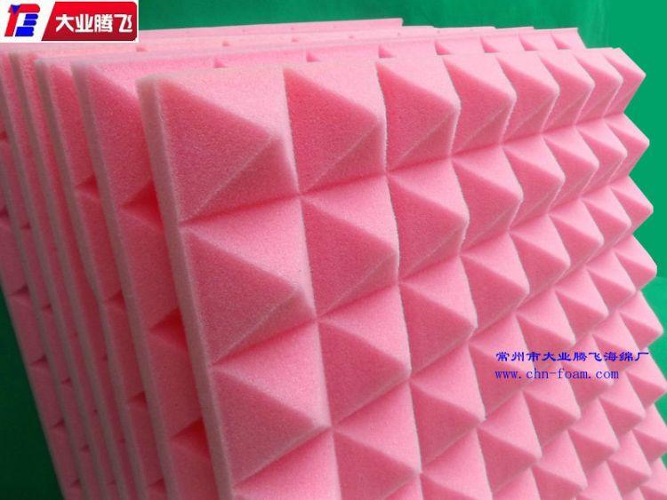 厂家直销 工作室吸音海绵  隔音棉墙体消音棉 海绵厂家来样定制