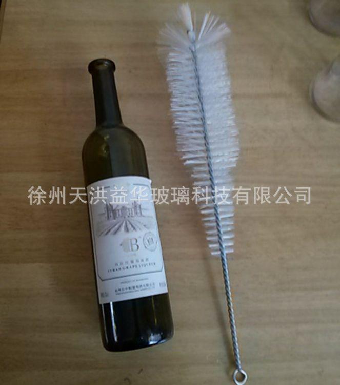 批发红酒瓶刷子 日本酵素瓶深瓶刷 奶瓶刷长柄毛刷 玻璃瓶清洗刷