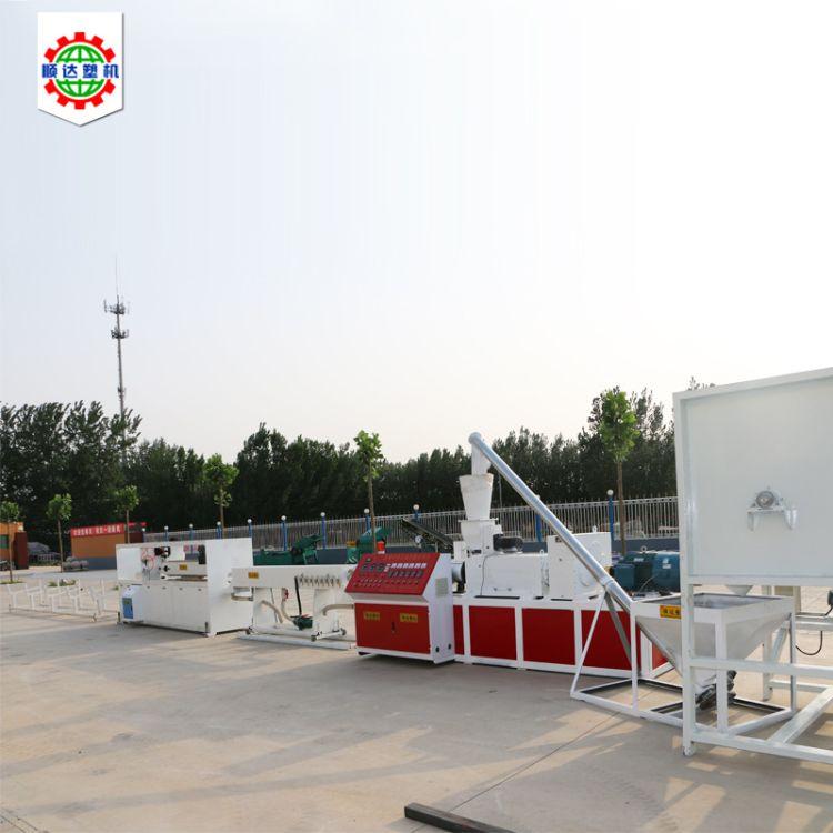 pe梅花管生产线双螺杆挤出机 PVC管材生产线机械设备