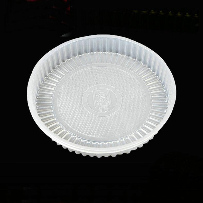 专业供应乳白吸塑月饼托盘 加厚本色月饼托盘 高密度月饼托盘
