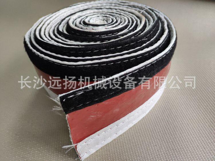 高温隔热套管电缆线防火阻燃保护套管粘扣式卡扣绝缘玻璃纤维硅胶