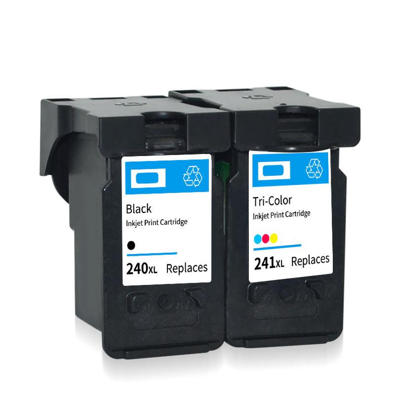 彩诺适用佳能PG240 CL241墨盒CANON MG3620 MG3522 2180打印墨盒